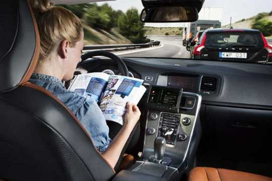 Volvo self-driving cars
