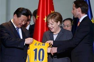 Beijing and Berlin