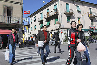 Chinese in Italy