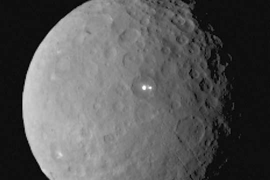 NASAs Dawn Spacecraft Has Spotted Two Lights As It Passes The Dwarf Planet Ceres Reports CNET Raising Questions About What Exactly Is There