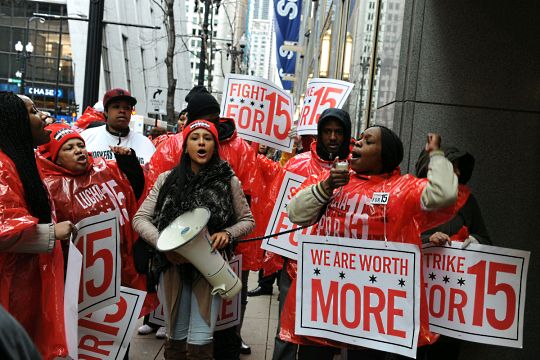 Poverty wages