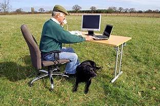 UK farmer computer