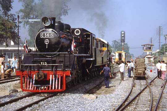 Thailand Japan rail