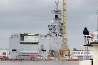 Russia warship