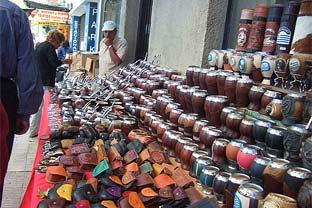 Uruguay street market