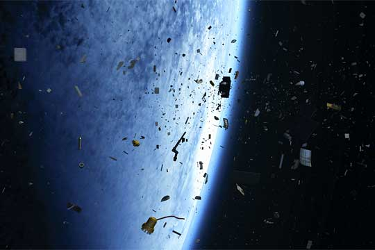 China space debris