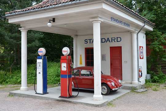 Norway gas station