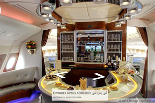 Emirates Google A380