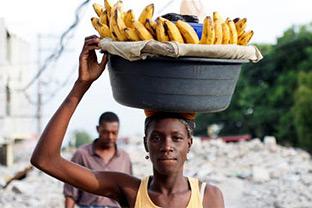 Haiti bananas