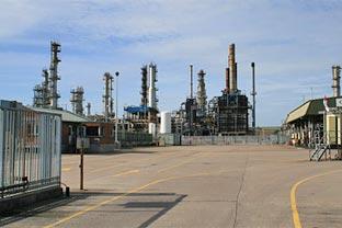 Ireland oil refinery