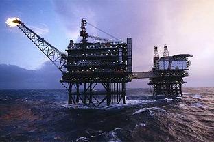 North Sea oil field
