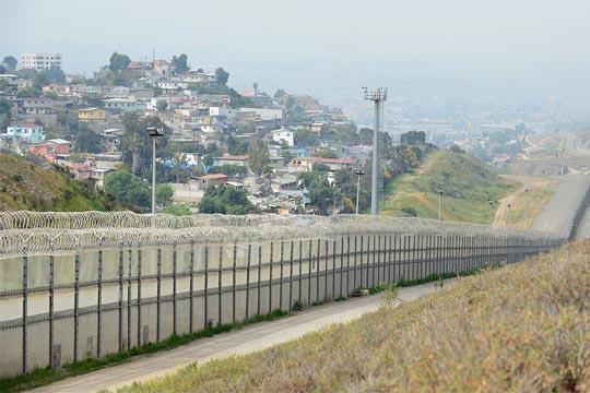 Mexico and California