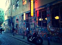 Melbourne small street