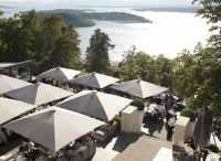 View from Ekeberg restaurant