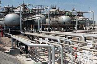 Saudi Arabia gas