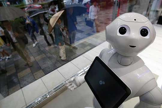 Nestle Japan robots