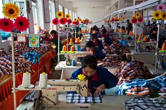 South Korea factory