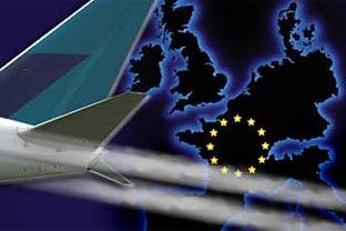 EU airplane