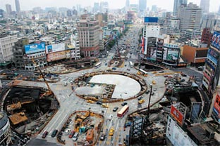 Taiwan construction