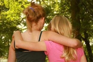 Teens friends