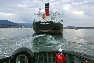 Canada tanker spill