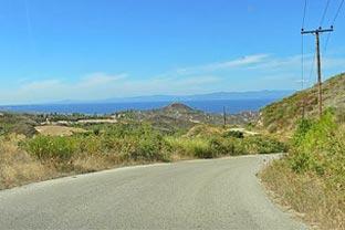 Greece roads