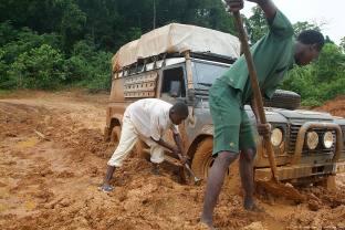 Liberia road