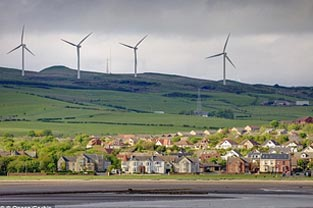 Scotland wind turbine