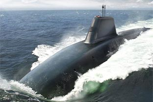UK submarine Successor