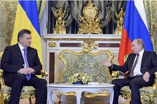 Yanukovych Putin