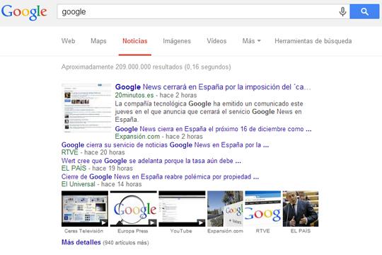 Google News Spain