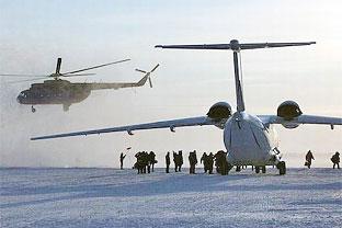 Barneo North Pole Russian base