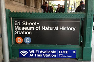 New York City subway Wi-Fi