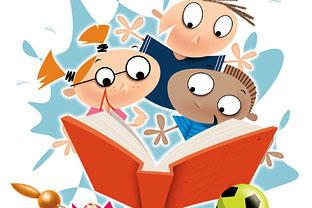 Children textbooks