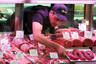 Australian meat export to China