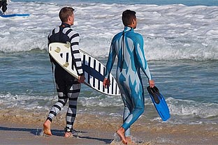 Anti-shark wetsuit