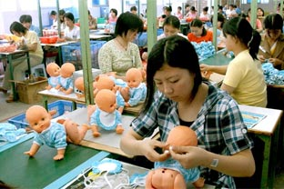 China toy makers