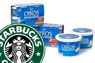 Starbucks Danone