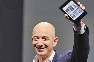 Amazon CEO Jeffrey P. Bezos